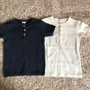 H&M baby button up shirts